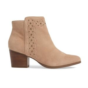 Sole Society 'Gala' Suede Bootie